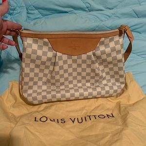 Louis Vuitton Siracusa Damier Azur Crossbody